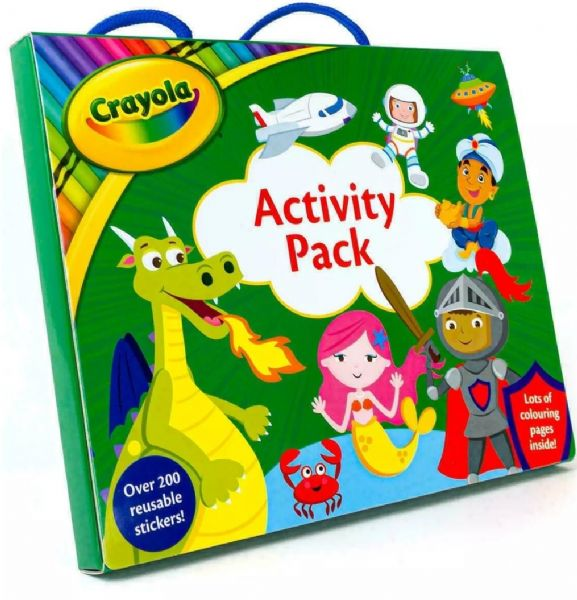 Crayola Shimmer Activity Pack with Arts and Crafts Kid's Activities